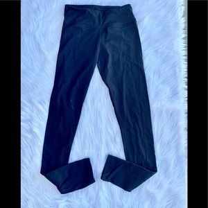 Solid Black Lululemon Leggings SZ 6